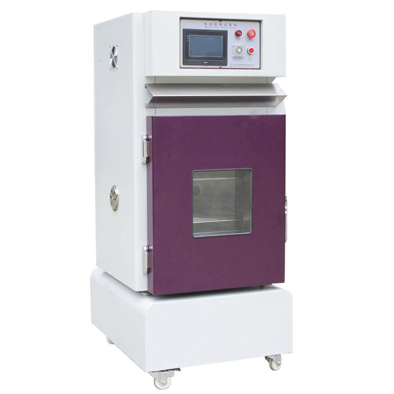 RT + 10 ~ 200  ℃   External Short Circuit Testing Equipment, Battery Safety Testing Equipment